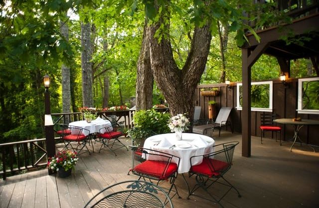 Tree Top Deck for Dining